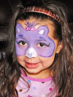 face painting idea for a birthday party@Lisa Sundstrom