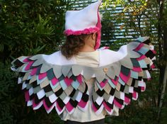 Owl Costume Imagination Play Dress Up Halloween by SavageSeeds, $65.00