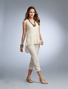 Gilded Collection S14 #InspiredStyle Spring 2014, Spring Fashion, Capri Pants, Fashion Outfits, Inspired, Inspiration, Clothes, Collection, Style