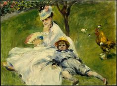 Pierre-Auguste Renoir - Madame Monet and her Son - Camille Doncieux - Wikipedia, the free encyclopedia