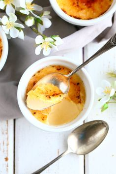 Crème Brûlée - kermaista herkkua - Suklaapossu Deli, Cantaloupe, Creme, Panna Cotta, Good Food, Food And Drink, Baking, Fruit, Ethnic Recipes
