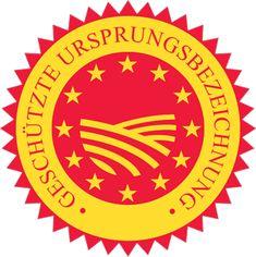 Gütesiegel D.O.P: Denominazione d'Origine Protetta - geschützte Ursprungsbezeichnung