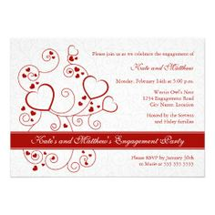 >>>Best          	Hearts and Swirls Engagement Party Invitation           	Hearts and Swirls Engagement Party Invitation This site is will advise you where to buyHow to          	Hearts and Swirls Engagement Party Invitation Online Secure Check out Quick and Easy...Cleck See More >>> http://www.zazzle.com/hearts_and_swirls_engagement_party_invitation-161263987194788103?rf=238627982471231924&zbar=1&tc=terrest