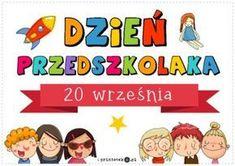 Dzień przedszkolaka - Printoteka.pl Easy Workouts, Worksheets, Diy And Crafts, Teacher, Classroom, Education, School, Kids, Easy Fitness