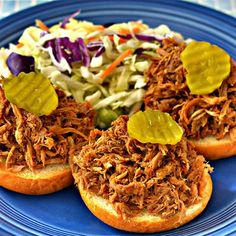 """Easy Slow Cooker BBQ 