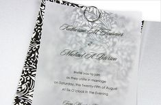 Print directly on a vellum overlay for a sharper, bolder look. Your wording will pop while still allowing the invitation card below to peek through. Perfect for placing over decorative paper or photos, printed vellum overlays are the best of both worlds.    How Its Made