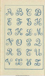 Free Easy Cross, Pattern Maker, PCStitch Charts + Free Historic Old Pattern Books: Sajou No 32 Design Alphabet, Hand Lettering Alphabet, Doodle Lettering, Creative Lettering, Graffiti Lettering, Lettering Styles, Lettering Design, Alphabet Templates, Alphabet Fonts