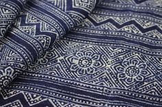 Hmong Batik Indigo Fabric Project Craft Supply by FabricTribal British Colonial Bedroom, Indigo, Craft Supplies, Handmade Gifts, Projects, Fabric, Crafts, Vintage, Decoration