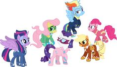 Another pick of the mane six as super heros My Little Pony House, Rainbow Dash, Season 4, Diy For Kids, Bowser, Smurfs, Disney Characters, Fictional Characters, Family Guy