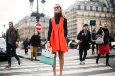 Street style. Paris fashion week 2014