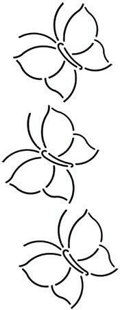 Quilt Stencil Butterfly Border 4 designs to draw borders Hand Quilting Patterns, Quilting Stencils, Quilting Templates, Hand Embroidery Stitches, Hand Embroidery Designs, Free Motion Quilting, Applique Designs, Quilting Designs, Embroidery Patterns