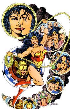 Wonder Woman — George Perez