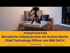 Trendthemen: Datenwachstum, KI und Blockchain #ChiefTechTalk