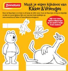 Kikker Kijkdoos beer en eend_klein formaat Frog Theme Preschool, Play Clothing, Preschool Lessons, 4 Year Olds, Happy Kids, Childrens Books, Cool Art, Crafts For Kids, Fun