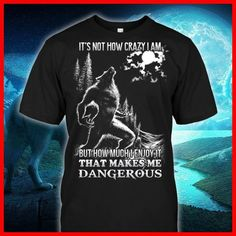 men's T-shirts – High Fashion For Men Funny T Shirt Sayings, T Shirts With Sayings, Funny Tshirts, Cool Tees, Cool Shirts, Tee Shirts, Warriors Shirt, Wolf T Shirt, Warrior Quotes