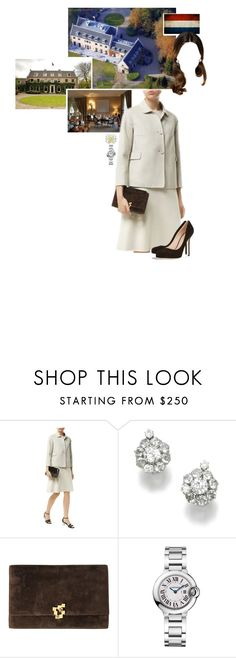 """""""Untitled #2233"""" by duchessq ❤ liked on Polyvore featuring GALA, MaxMara, Cartier and Sergio Rossi"""