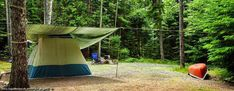 Tent Camping With Electricity Near Me