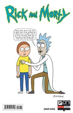 Oni Reveals Justin Roiland's Rick and Morty Variant Cover