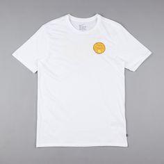 Nike SB Chicken Waffles T-Shirt QS - White / White / Vivid Sulfur