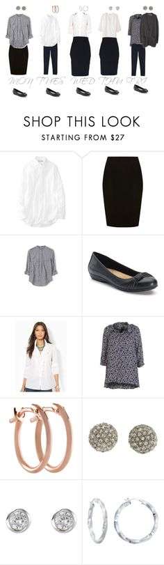 """""""Ootd 26 February-2 March 2018"""" by bloomfly ❤ liked on Polyvore featuring Uniqlo, Coast, Croft & Barrow, Ralph Lauren, Pori, Betsey Johnson, J by Jasper Conran, WorkWear, autumn and professional"""
