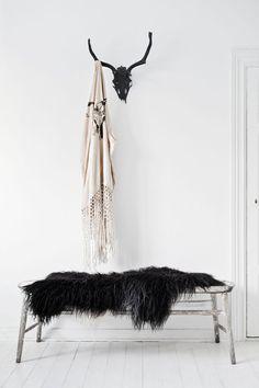 Black deer skull wall mount- £80 http://www.ebay.co.uk/itm/Faux-Taxidermy-Black-Deer-Skull-Wall-Mount-BS1717-/262346233472?hash=item3d150dd680:g:3boAAOxyeZNTUU51
