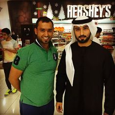 Majid with his highness Mr.Majid Bin Muhammed