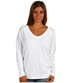 C California Twist Long Sleeve Dolman Top