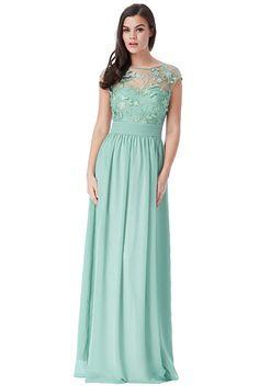 Mentolově zelené společenské šaty City Goddess Sofia c477cc3689