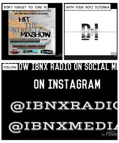 CHECK ME OUT TONIGHT 7/8pm ON ibnxradio.com/mixnibnx #ibnxradio #TeamIBNx #HTSMS