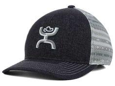 "New arrival at Billy's Western Wear- HOOey  Style 1562T-GYWT Grey/White Aztec print trucker hat. ""Storm"""