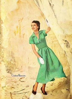 Couture Allure Vintage Fashion: Polka Dots - 1949