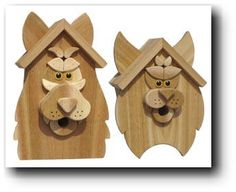 Woodworking+Patterns | woodworking plans v birdhouses with personality full size patterns ...