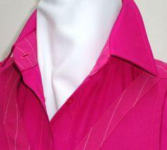 Particolare Mod. Doris camicia in puro cotone elasticizzato, tinta unita con listino e interno polsi in fantasie coordinabili a qualsiasi grembiulino presente in catalogo.