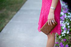 Pink Lace Dress | Dallas Wardrobe