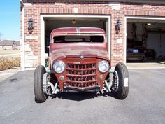 Willys Rat Rod Truck | 012: Robert Gessert's 1951 Willys Truck Hot Rod