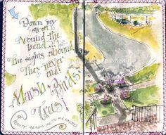 Artists' Journal Workshop: journaling, Cathy Johnson