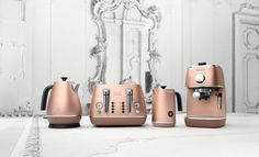 DeLonghi Distinta Copper Kitchen Appliances