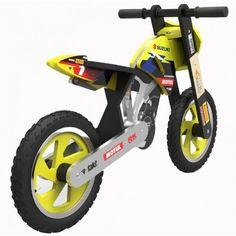 Kiddimoto Scrambler Balance Bike Suzuki RMZ Matt Moss