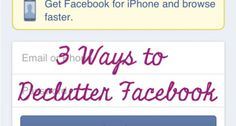 Here are three ways to get FB under control so it can be used as an evangelization tool during Lent instead of ending up on the penitential acts list!