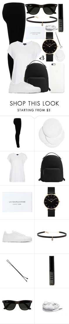 """#35"" by oneandonlyfashion ❤ liked on Polyvore featuring Gestuz, H&M, Black Apple, Topshop, MANGO, CLUSE, Jil Sander, Carbon & Hyde, Lord & Berry and Ray-Ban"