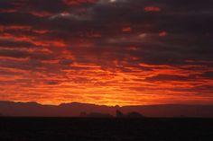 Antarctica skyline
