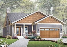 W21939DR: One Story Craftsman