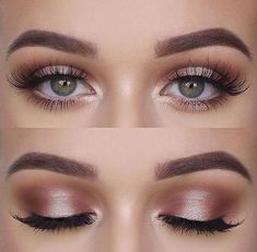 awesome 46 Stunning Shimmer Eye Makeup Ideas 2018 www. awesome 46 Stunning Shimmer Eye Makeup Ideas 2018 www. awesome 46 Stunning Shimmer Eye Makeup Ideas 2018 www. Wedding Makeup Tips, Natural Wedding Makeup, Natural Makeup Looks, Day Makeup Looks, Prom Make Up Natural, Natural Makeup Look Tutorial, Natural Eyeshadow Looks, Wedding Makeup Tutorial, Wedding Makeup For Brown Eyes