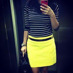 .@futilish | Look de trabalho do dia. Essa Blusinha listrada achei ontem na @cea_brasil po... | Webstagram - the best Instagram viewer
