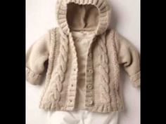 Abrigo de bebé unisex - Tutorial Crochet paso a paso (1 de 2) - YouTube