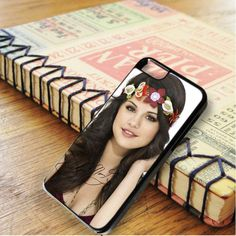 Selena Gomez Cute Flowers Signature iPhone 6|iPhone 6S Case