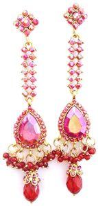 Stunning Bollywood Nikhita Earrings