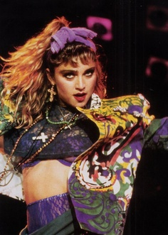 Dress You Up- I loved  the song, the outfit, the choreography...  Ok, I wanted to be Madonna at this point in my life...