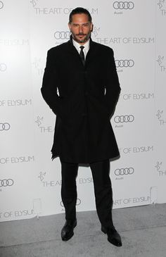 Joe Manganiello eeekkk he looks so dashing i would like my date to look this when i go out with him