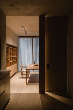 Bulthaup Sant Cugat is a minimal kitchen showroom in Barcelona designed by Francesc Rifé Studio evoking a more intimate, domestic feel.